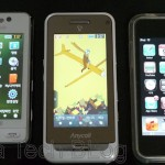 SamSung W750 W7700 iPod Touch 2G 2nd Second Generation Compare