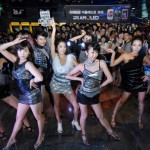 All Girl Group Sohn Dam Bi and After School AMOLED Dance Performance on Streets of Seoul