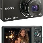 Sony DSC-WX1 DSC-HX5V Brighter Compact Digital Cameras Compare