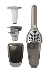 Electrolux Ergo Rapido Cyclone type 2 way cordless cleaner Antique Steel ZB2901 hand held unit