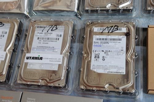 11.11.8 distributing recycled hard disk drives due to Thailand flood