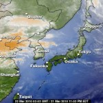 No Radiation BUT Asian Yellow Sand Dust Alert in Korea Today and Rain Tomorrow