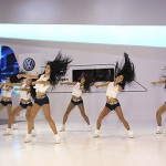 VolksWagen Korea UnVeils New Beetle at Busan Motor Show via Lotte Giants CheerLeaders