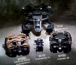 Batman vehicles 2col534