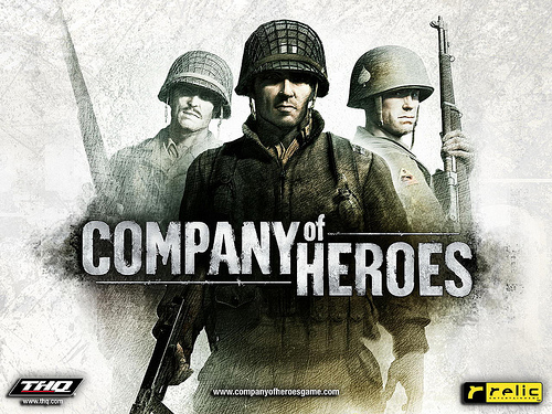 Relic-Entertainment-THQ-Company-of-Heroes-PC-Game-title-poster-500