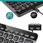 130421 icoda Logitech K810 Bluetooth illuminated Keyboard 13