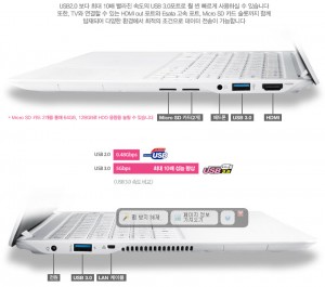 INNO LG XNOTE UltraBook ZD360-GD30K 3rd Gen.i3-3217U IPS(1920X1080) 4GB 120GB(SSD) OSDriver CD z360-side
