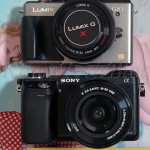 Compare Panasonic Lumix GX1 vs Sony NEX-6