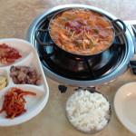 YongSan Electronics Market Tunnel Korean Restaurant DongGeul ShikDang