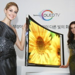 Las Vegas CES Consumer Electronics Show Curve Display TV Preview