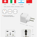 international Travel Electric Plug Converter