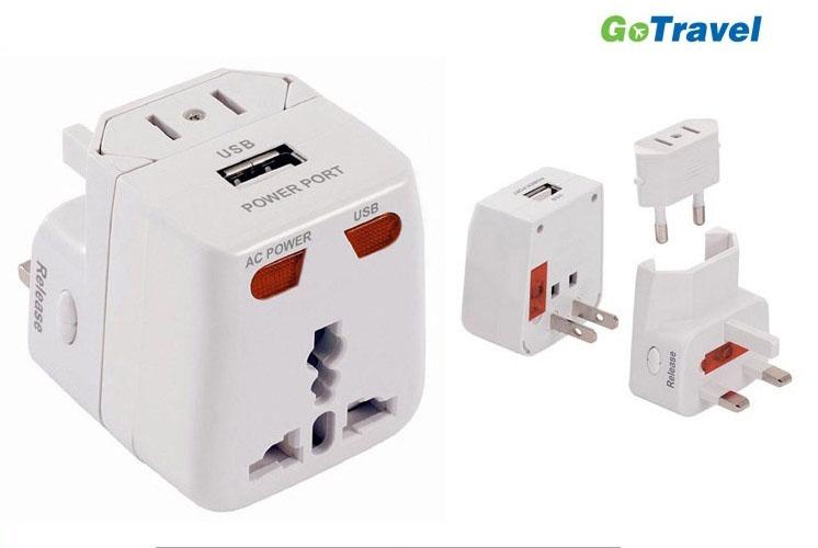140219 SSG 20120704 GO Travel 여행용 아답터 USB01