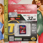 SanDisk vs Transcend SDHC Class 10 UHS-1 Memory Card