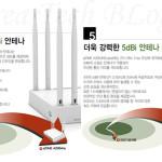 EFM ipTime A2004NS Plus 5dBi Antenna