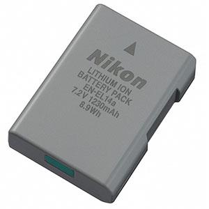 Nikon D5500 product pic_08 Li-ionリチャージャブルバッテリー EN-EL14a 300